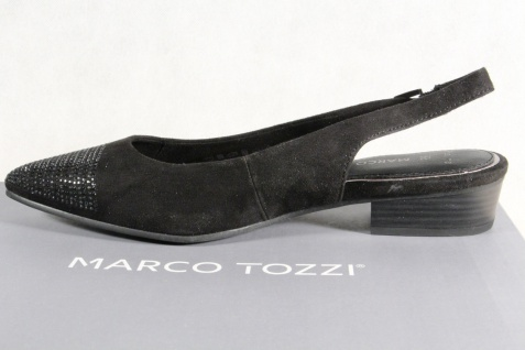 Marco Tozzi Damen Sandale Sling NEU!! schwarz NEU!! Sling 35e4f3
