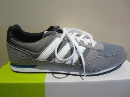 adidas Schnürschuh/Sneaker grau/weiss NEU