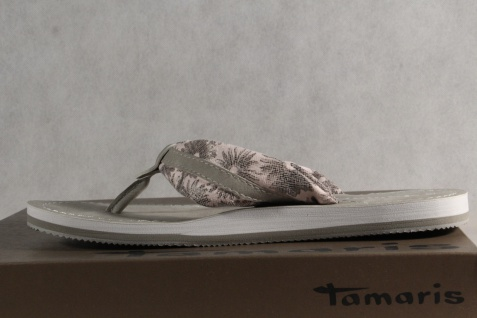 Tamaris Pantolette Zehenstegpantolette Zehen Trenner Sandale Pantolette Tamaris rosa 27109 NEU! 46b93e