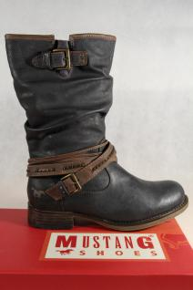Mustang Stiefel graphit/ Stiefeletten Schnürstiefel Stiefel graphit/ Stiefel grau 1139 NEU! 2efa86