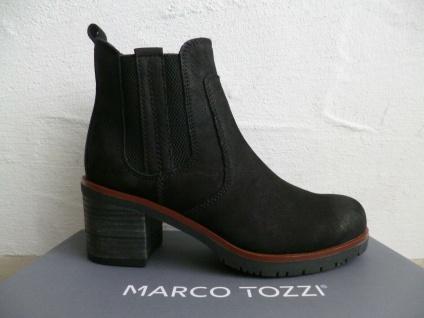 Marco Tozzi Damen Stiefel Stiefeletten Boots Echtleder schwarz NEU!!