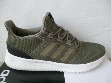 Adidas Sportschuhe CLOUDFOAM ULTIMATE Sneakers Schnürschuhe oliv NEU!