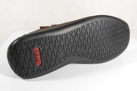Rieker Slipper Sneakers Halbschuhe 05284 braun Echtleder 05284 Halbschuhe NEU a8eefe