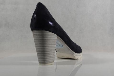Marco Tozzi Innensohle Pumps Ballerina Slipper blau weiche Innensohle Tozzi Echtleder 22437 NEU! ff8e39