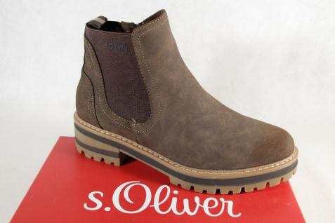 S.Oliver Damen Stiefel Stiefelette Boots Schlupfstiefel braun 25409 NEU!