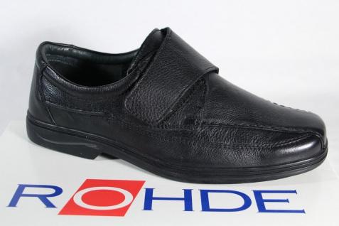 Rohde Herren Slipper Halbschuhe Sneaker schwarz NEU!