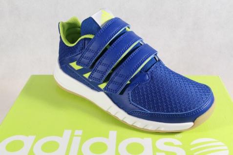 Adidas Sportschuhe Laufschuhe Hallenschuh Forta Gym blau/ grün NEU!