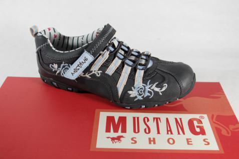 Mustang Mädchen-Slipper, Mädchen-Slipper, Mustang Dunkelblau, Gummisohle, Klettverschluß, NEU! 3f3df9