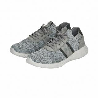 Rieker Herren Slipper Sneakers Sneaker Sportschuhe grau B7470 NEU