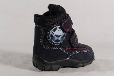 Capt'n Sharky Tex Winterstiefel Stiefel Stiefeletten Stiefel Winterstiefel Tex blau NEU 924c09