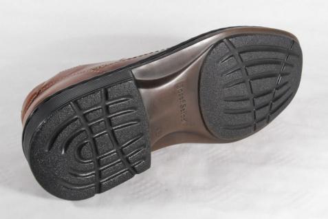 Seibel Slipper Sneaker Halbschuh, braun, Leder Wechselfußbett NEU