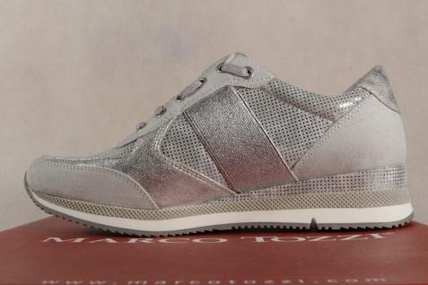 Marco Tozzi Slipper silber Sneakers Halbschuhe silber Slipper 23711 NEU! 9c0a45