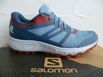 Salomon Sportschuhe Halbschuhe Sneakers Trailster 2 GTX blau Neu!!!