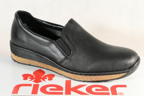 Rieker 59766 Slipper Sneakers Halbschuhe Sportschuhe Ballerina schwarz NEU