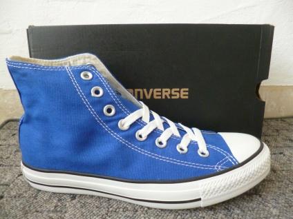 Converse All Star Schnürschuhe Sneaker Sneakers Stiefel blau Neu!!!