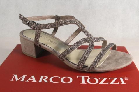 Marco taupe Tozzi Damen Sandalen Sandaletten taupe Marco NEU!! 9701a0