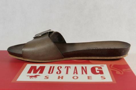 Mustang by COSMOS Pantolette Pantoletten Pantoffel grün Neu! - Vorschau 3