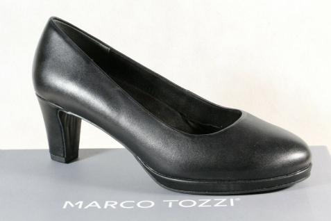 Marco Tozzi Pumps Ballerina Slipper schwarz feel me Fußbett 22427 Echtleder NEU!
