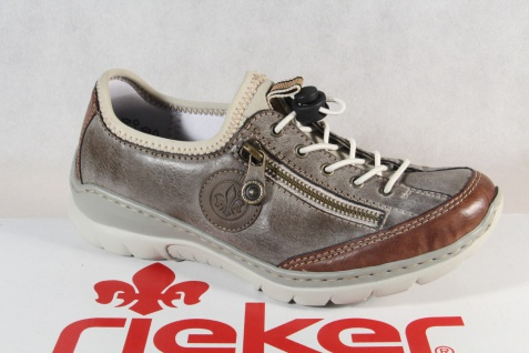 Rieker Slipper Sneakers Halbschuhe Sportschuhe braun L3269 Memosoft NEU