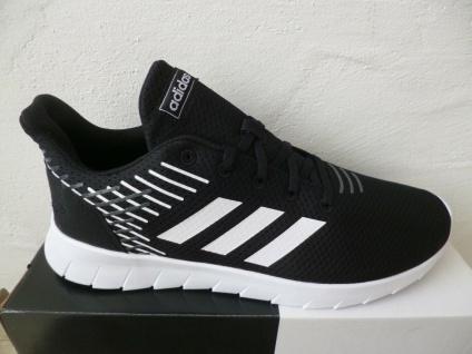 Adidas Sportschuhe ASWEERUN Sneakers Schnürschuhe schwarz NEU!