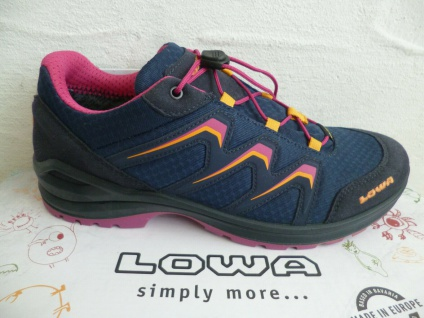 Lowa Sneakers MADDOX Wanderschuhe Sportschuhe Sneakers Gore-Tex blau 350121 NEU