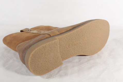 S.Oliver Damen Stiefelette, Stiefel 26421 Stiefelette, Damen Stiefel braun NEU! 9cb4e0
