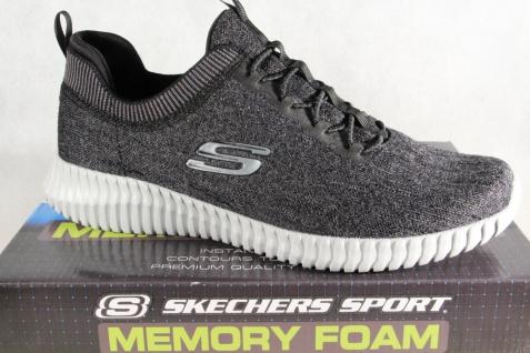 Skechers Elite-Flex Slipper Sneakers Halbschuhe schwarz grau 52642 NEU! - Vorschau 1