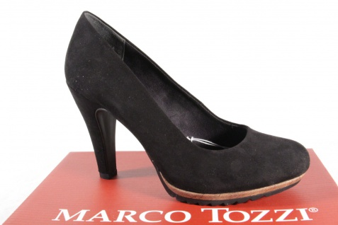 Marco Tozzi Damen Pumps Slipper Trotteur schwarz 22412 NEU!