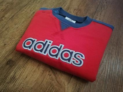 Adidas Jogger Jogginganzug Babyjogger Sweatshirt Sweathose rot dunkelblau NEU - Vorschau 2