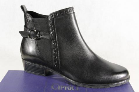 Caprice Damen schwarz Stiefel Stiefelette Stiefel Winterstiefel schwarz Damen 25420 Neu!!! c8dccd