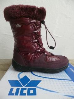 Lico Mädchen Stiefel Winterstiefel Boots bordo wasserdicht NEU!! Beliebte Beliebte Beliebte Schuhe c50d69