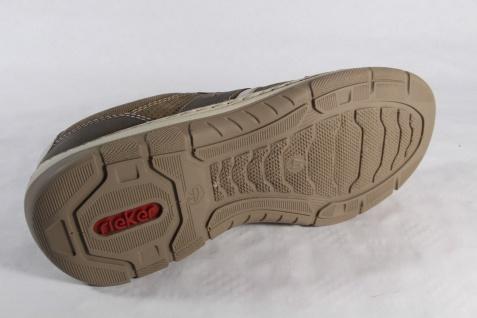 Rieker Herren Schnürschuhe Sneakers braun Halbschuhe braun Sneakers NEU 85250f