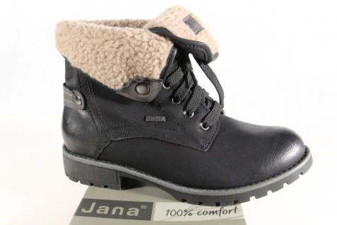 Jana-Tex Winterstiefel Damen Stiefelette Stiefel Stiefel Winterstiefel Jana-Tex schwarz Weite H NEU! 4e990b