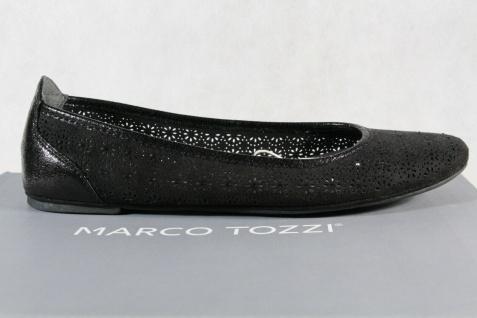 Marco Tozzi Ballerina Slipper Halbschuhe Pumps schwarz 22107 NEU!! - Vorschau 2