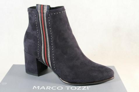 Marco Tozzi Stiefelette Stiefeletten Stiefel blau 25379 NEU!