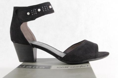 Jana Sandalen 28311 Sandaletten mit Klettverschluß schwarz 28311 Sandalen NEU!! c4fafd