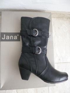 Jana schwarz Damen Stiefel Stiefeletten Stiefelette schwarz Jana NEU! 5a6974