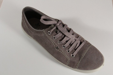 Rieker Damen Schnürschuhe, M6014 Halbschuhe, Sneakers, grau, Echtleder M6014 Schnürschuhe, NEU! b301bd