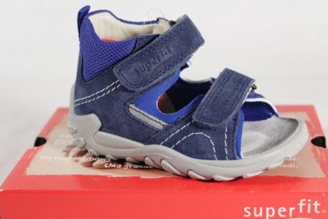 Superfit Knaben Lauflern Schuhe Sandalen Echtleder blau Neu