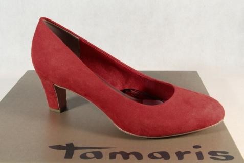 Tamaris Damen Pumps Ballerina Slipper rot 22418 NEU!