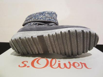 S.Oliver Stiefel Stiefelette Stiefel gefüttert Winterstiefel grau warm gefüttert Stiefel NEU a0d9c1