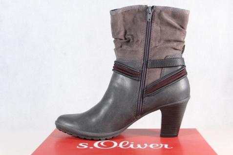 online store b43c3 55d0c S.Oliver Damen Stiefel, Stiefelette, Boots grau 25337 NEU!