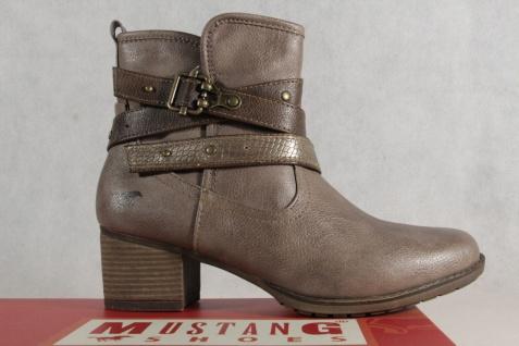 Mustang Damen braun Stiefel Stiefeletten Stiefel taupe/ braun Damen leicht gefüttert 1197 NEU 9c8ad8