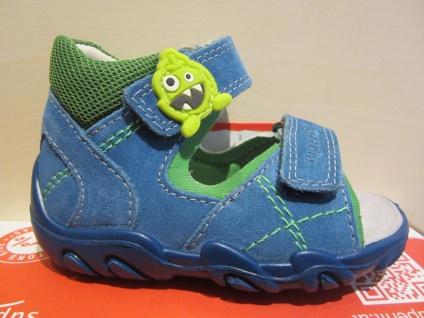 Superfit LL-Sandale blau/grün KVLederfußbett Neu !!!