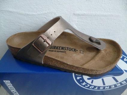 Birkenstock Gizeh Zehentrenner Pantolette Sandale Graceful taupe 043391 NEU!