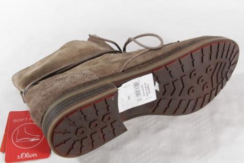 S.Oliver Stiefel, Stiefelette, Boots, Velourleder, Schuhe braun, gefüttert NEU Beliebte Schuhe Velourleder, 9fb7c4
