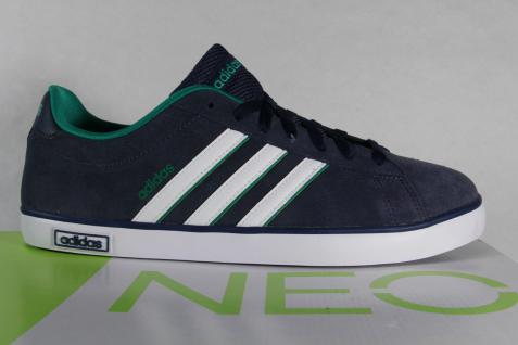 Adidas Schnürschuhe Sneakers Sportschuhe Halbschuhe DERBY VULC Leder blau NEU Beliebte Schuhe