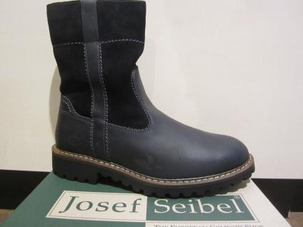 Seibel Herren Stiefel Winterstiefel Boots Stiefelette schwarz Leder 21927 NEU