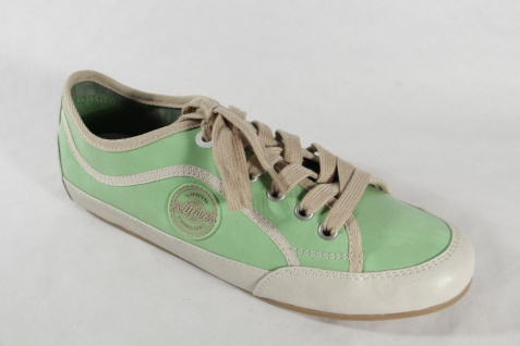 S.Oliver Damen NEU! Schnürschuhe Schnürschuh Sneakers Halbschuhe hellgrün NEU! Damen a5f42e