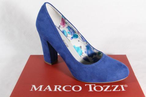 Marco Tozzi Pumps, blau, weiche NEU! Innensohle NEU! weiche 6afca0